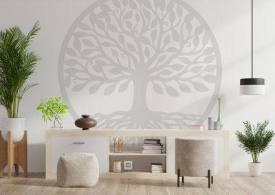 Декорация за стена - Дървото на живота